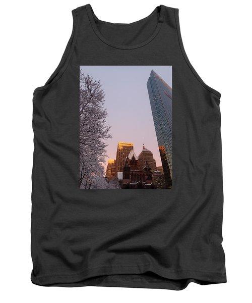 Boston 02/05/16 Tank Top by Robert Nickologianis