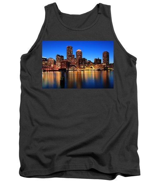 Boston Aglow Tank Top by Rick Berk