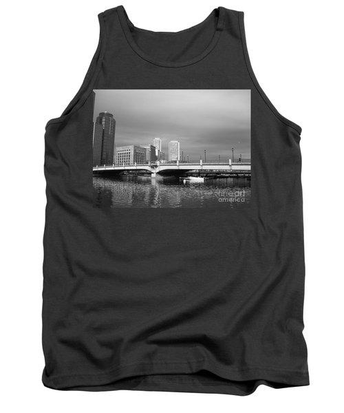Boston Bridge Tank Top by Barbara Bardzik