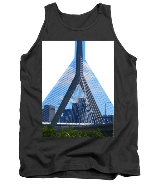 Boston Bridges So Beautiful A Photograph Can Give You All The Time To Enjoy The Moment Tank Top