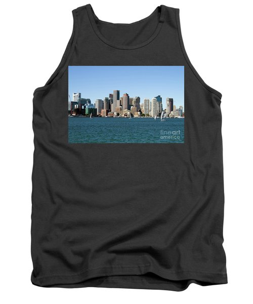 Boston City Skyline Tank Top