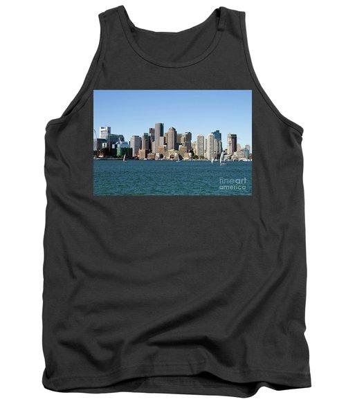 Boston City Skyline Tank Top