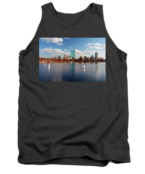 Boston On The Charles  Tank Top