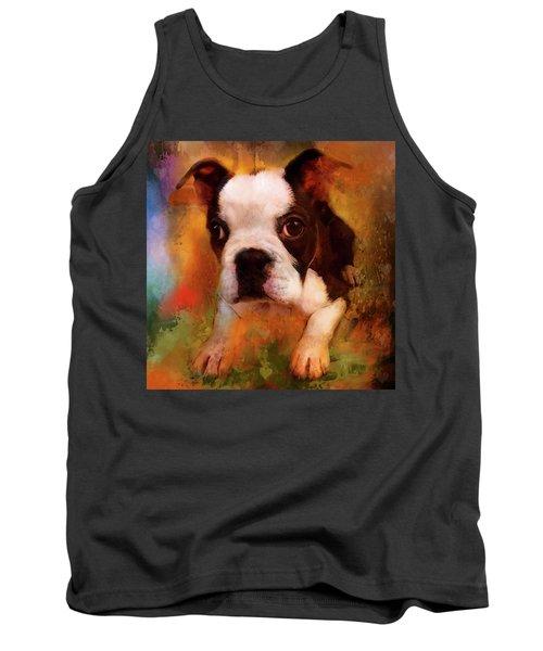 Boston Puppy Tank Top