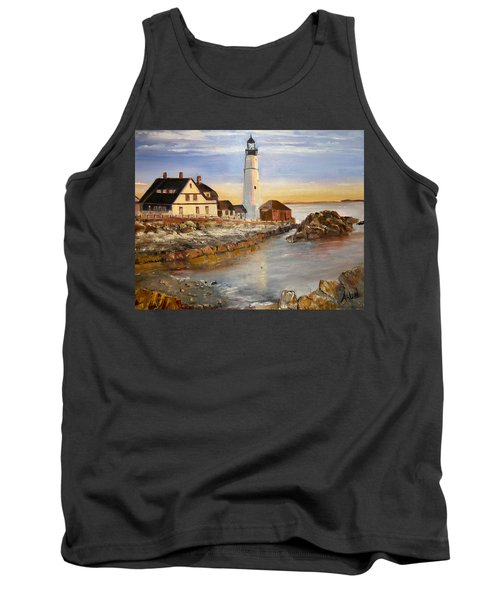 Boston Rocky Coast Tank Top