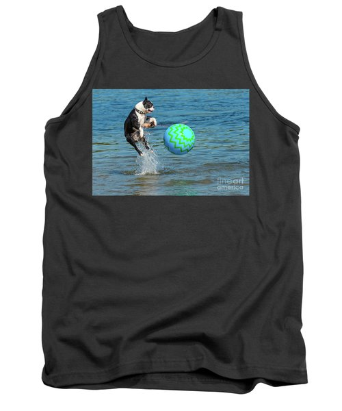 Boston Terrier High Jump Tank Top