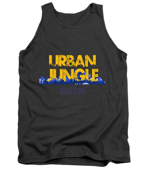 Boston Urban Jungle Shirt Tank Top by Joe Hamilton