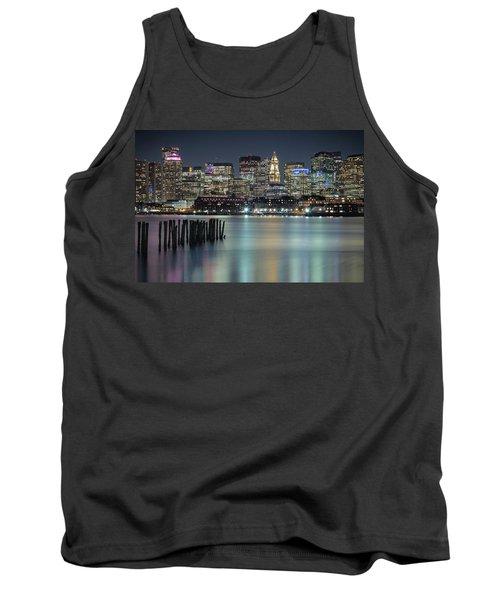 Boston's Skyline From Lopresti Park Tank Top