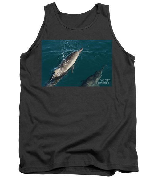 Bottle Nose Dolphin Tank Top