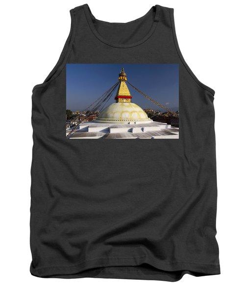 Boudhanath Stupa Tank Top