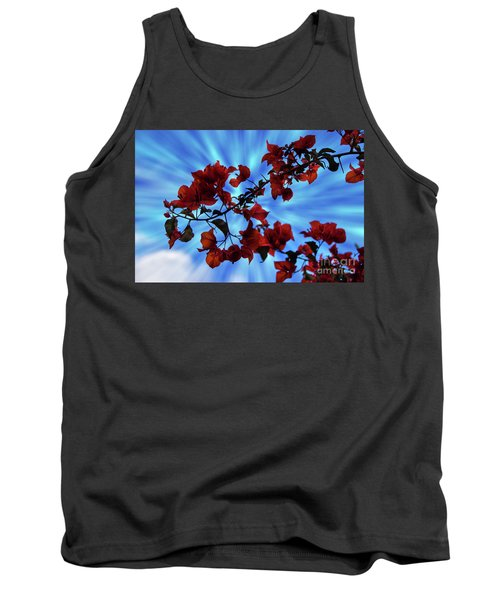Bougainvillea At Joe's Secret Garden Iv Tank Top by Al Bourassa