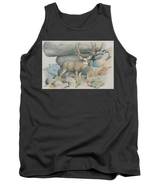 Boulder Buck  Tank Top