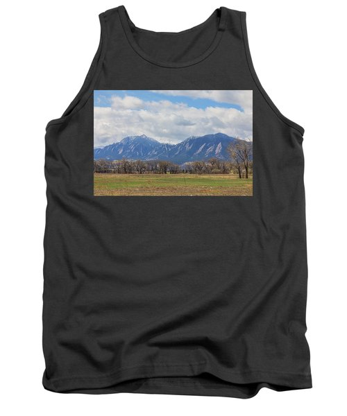 Tank Top featuring the photograph Boulder Colorado Prairie Dog View  by James BO Insogna