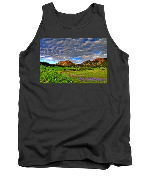 Boulder Spring Wildflowers Tank Top by Scott Mahon