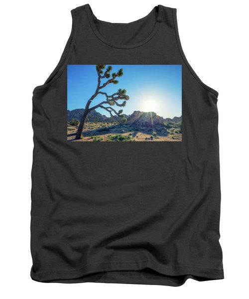 Bowing To The Sun Tank Top