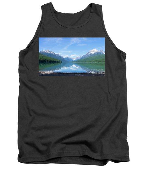 Bowman Lake Mt Tank Top