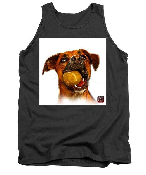 Boxer Mix Dog Art - 8173 - Wb Tank Top