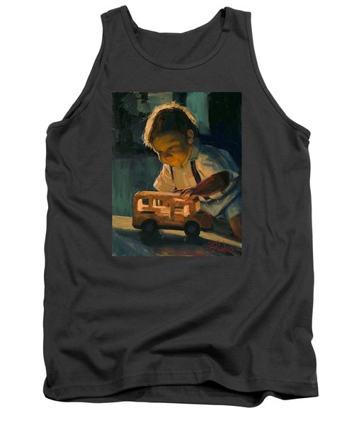 Boy And Their Toys Tank Top