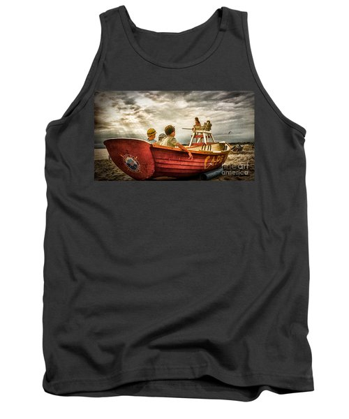 Boys Of Summer Cape May New Jersey Tank Top