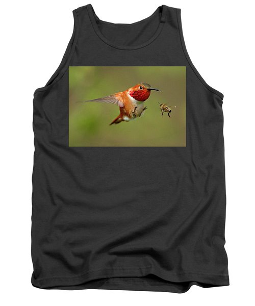 Brakes Tank Top by Sheldon Bilsker