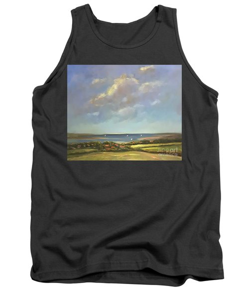 Brancaster Staithes, Norfolk Tank Top by Genevieve Brown
