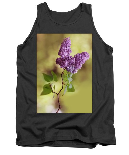 Branch Of Fresh Violet Lilac Tank Top
