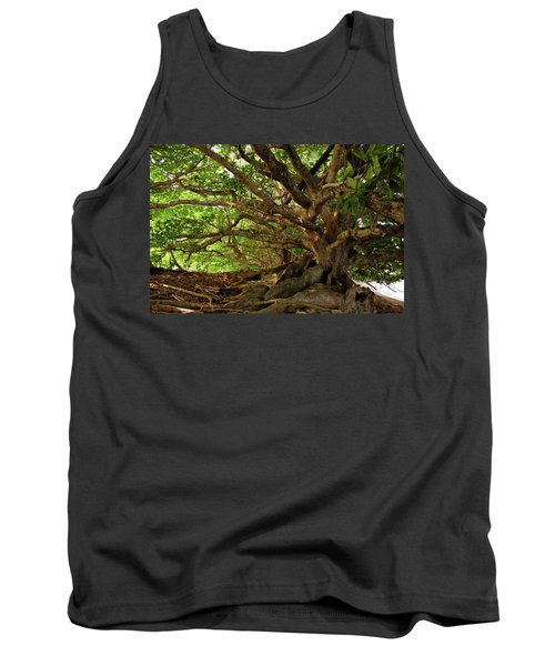 Branches And Roots Tank Top by James Eddy