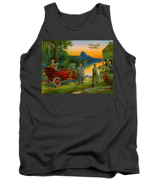 Brave New World 1910 Tank Top by Padre Art