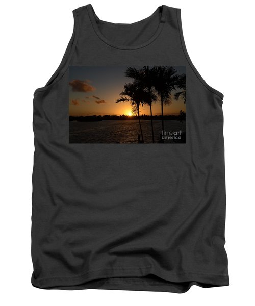 Tank Top featuring the photograph Breaking Dawn by Pamela Blizzard