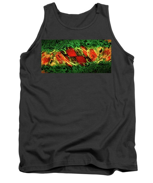 Breaking Out Abstract Tank Top