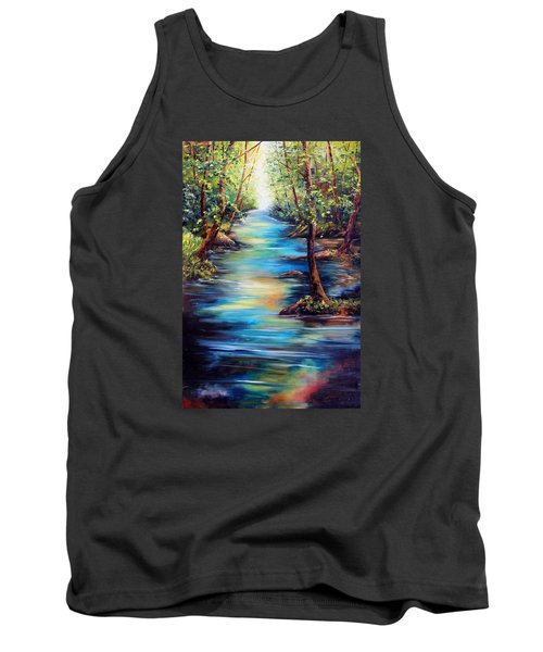 Breaking Through Tank Top by Meaghan Troup