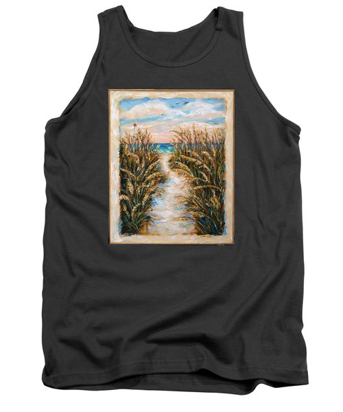 Breezy Sea Oats Tank Top