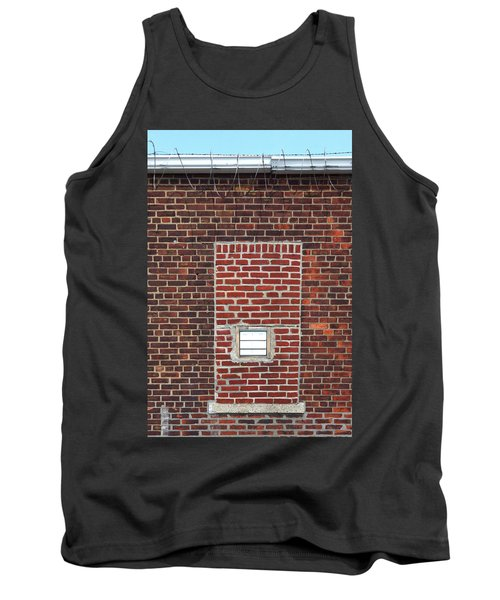 Brick And Barbed Wire Tank Top