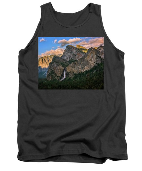 Bridalveil Falls From Tunnel View Tank Top