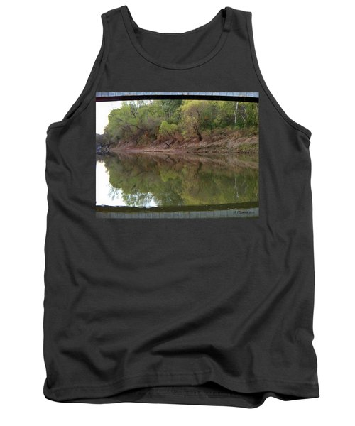 Tank Top featuring the photograph Bridge Frame by Betty Northcutt