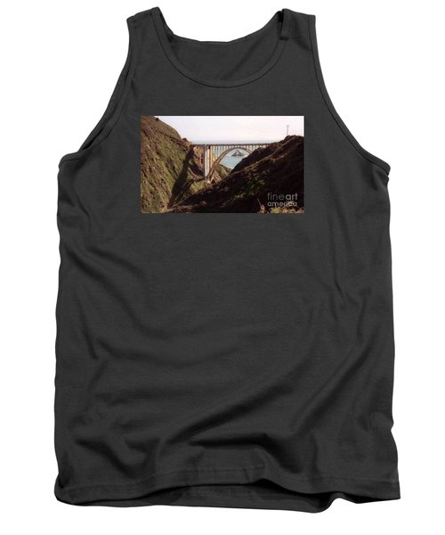 Bridge Highway 1 Coastal Road Tank Top