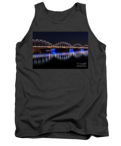 Bridge In Riga  Tank Top