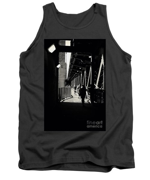 Bridge - Lower Lake Shore Drive At Navy Pier Chicago. Tank Top