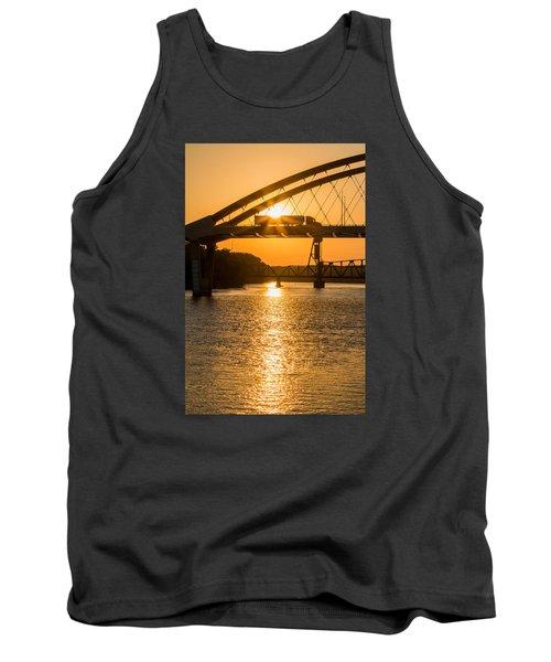 Bridge Sunrise 2 Tank Top by Patti Deters