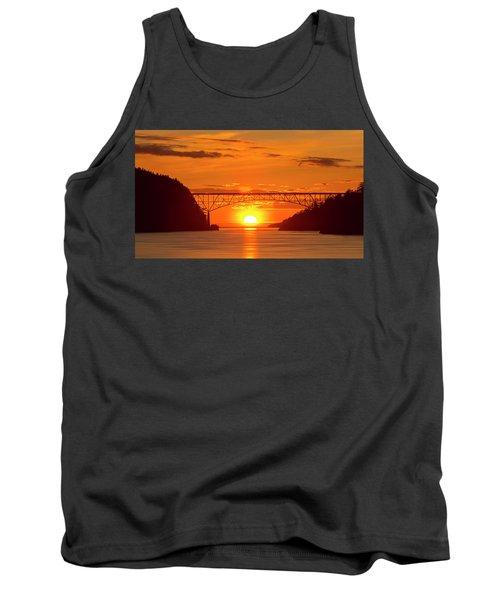 Bridge Sunset Tank Top