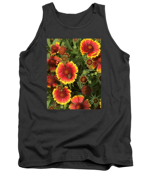 Bright Daisy-like Tank Top