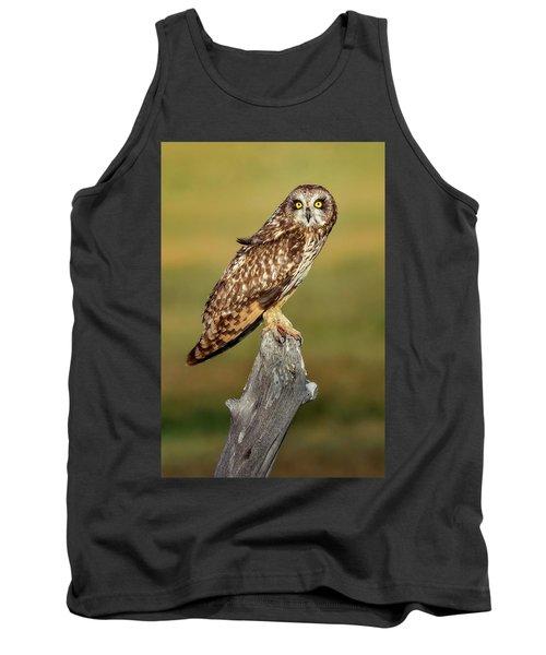 Bright-eyed Owl Tank Top