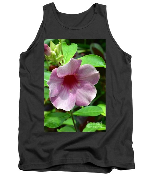 Bright Mandevillia Tank Top
