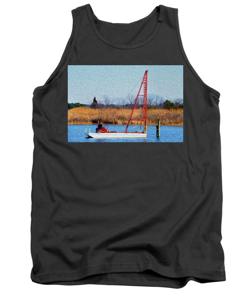 Bright Paintery Barge Tank Top