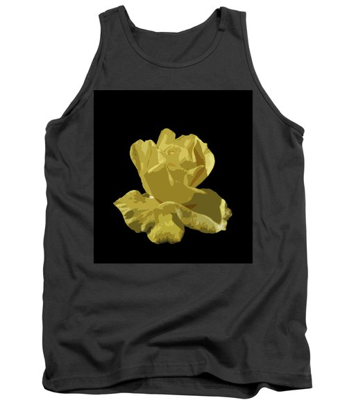 Tank Top featuring the photograph Bright Yellow Beauty by Laurel Powell