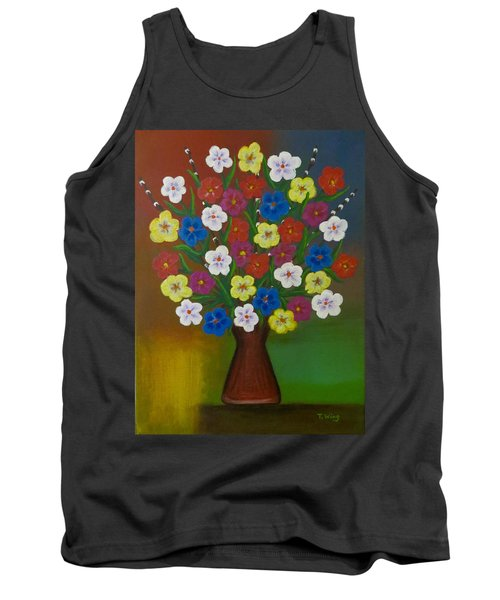 Brilliant Bouquet Tank Top