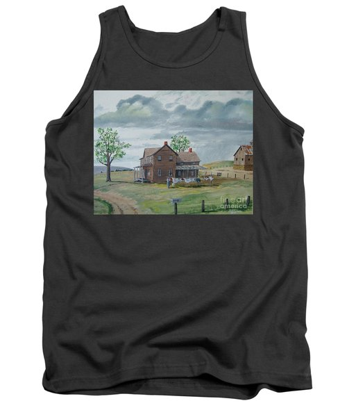 Bringing In The Clothes Tank Top