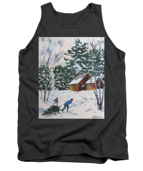 Bringing In The Tree Tank Top