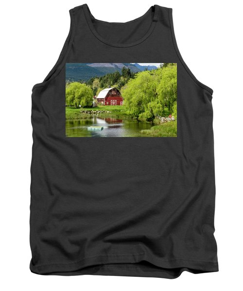 Brinnon Washington Barn Tank Top
