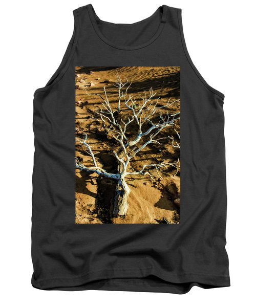Brins Mesa 07-104 Stripped Bare Tank Top by Scott McAllister
